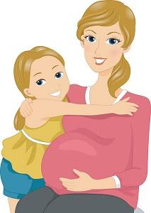 pregnant-woman-child